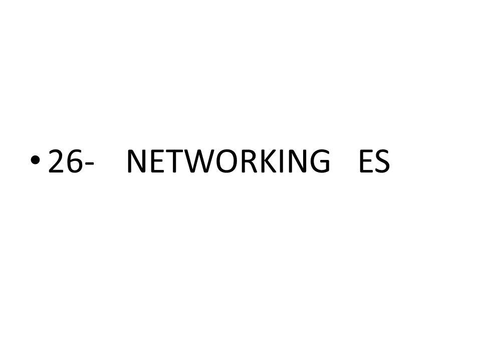 26-NETWORKING ES