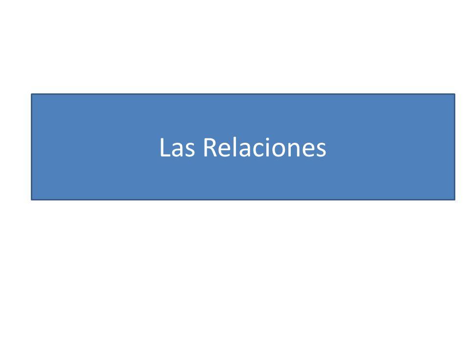 Las Relaciones