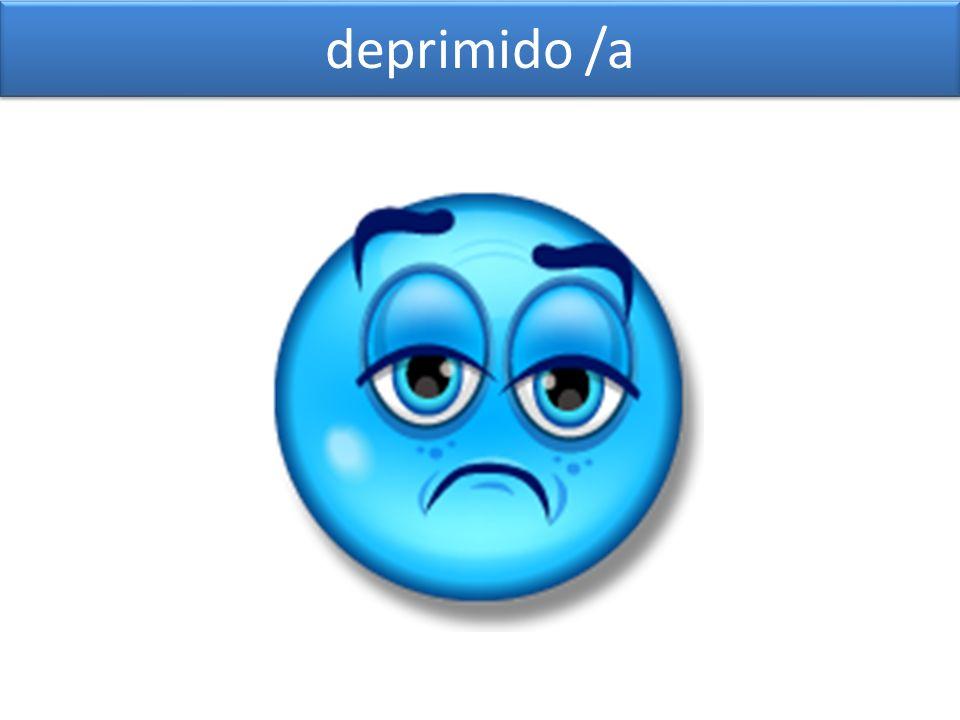 deprimido /a