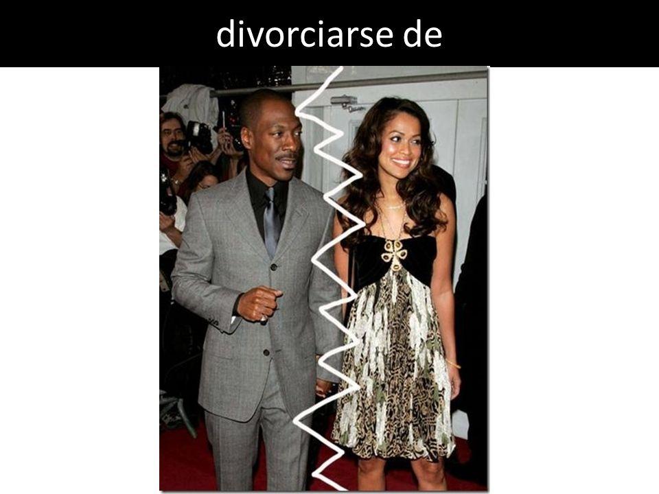 divorciarse de