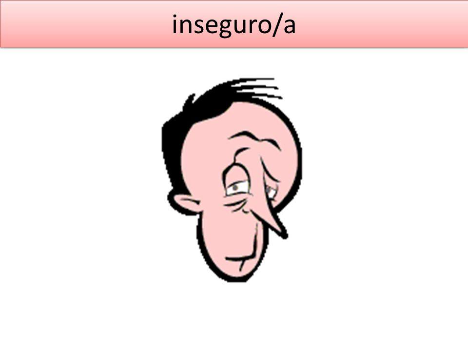 inseguro/a