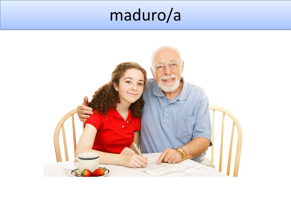 maduro/a