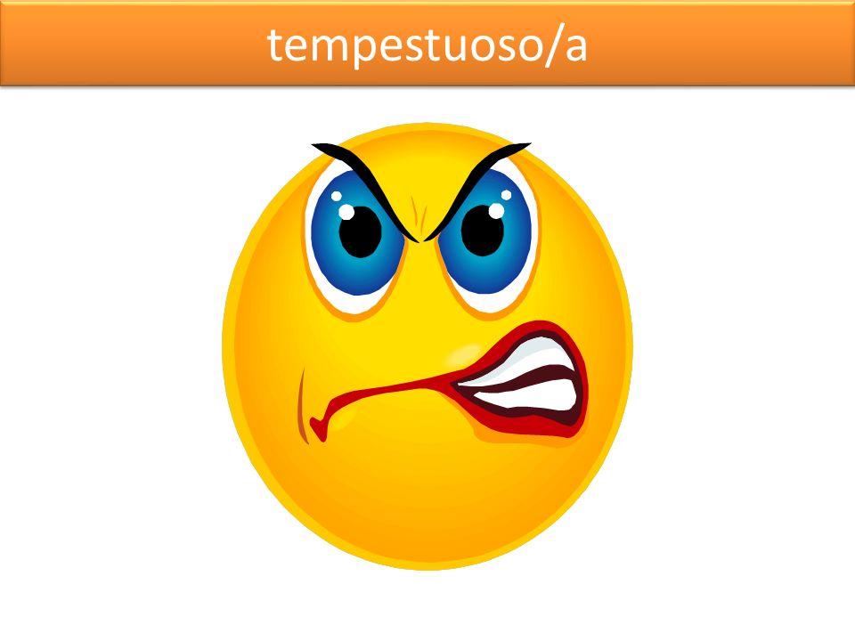 tempestuoso/a