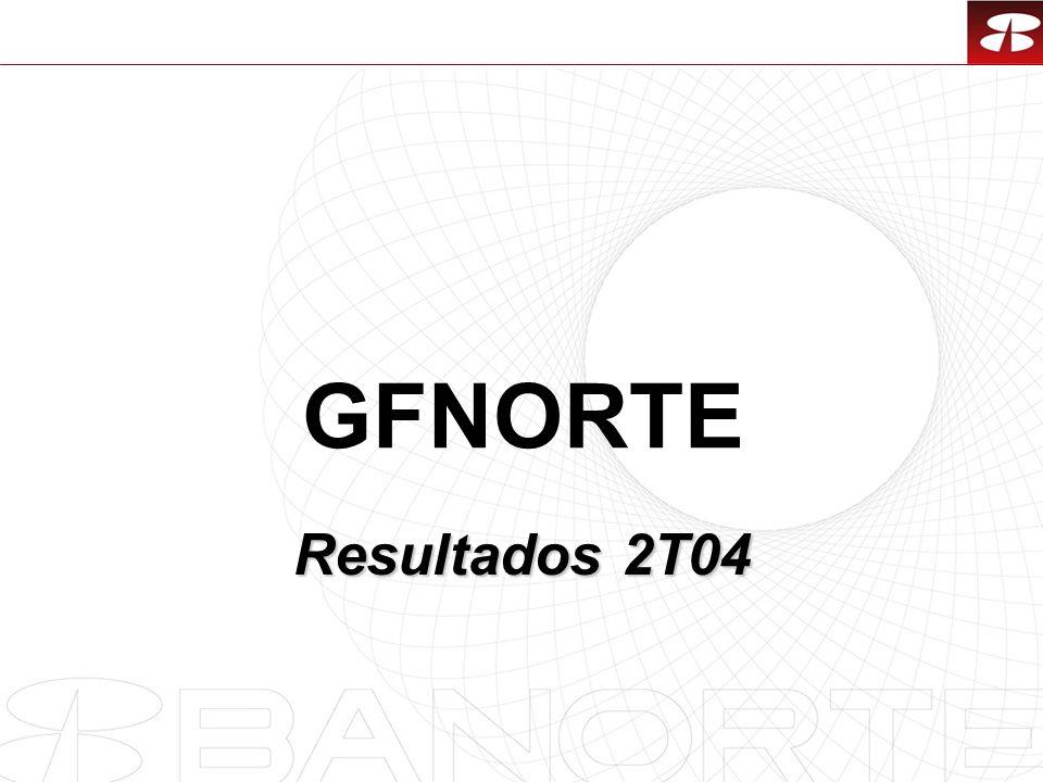 1 GFNORTE Resultados 2T04