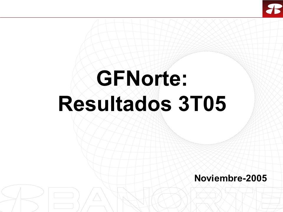 1 GFNorte: Resultados 3T05 Noviembre-2005