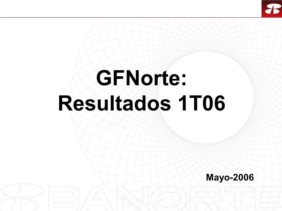1 GFNorte: Resultados 1T06 Mayo-2006