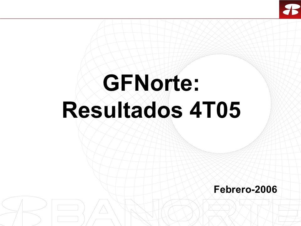 1 GFNorte: Resultados 4T05 Febrero-2006