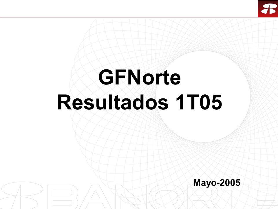 1 GFNorte Resultados 1T05 Mayo-2005