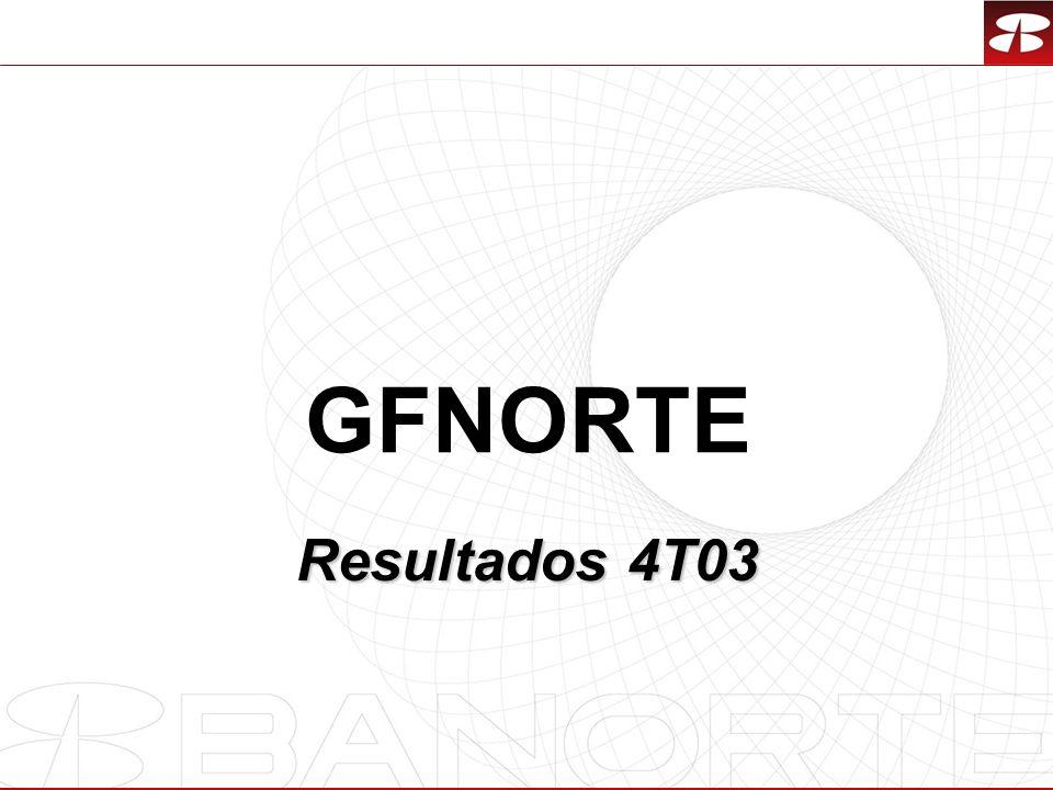 27 GFNORTE Resultados 4T03