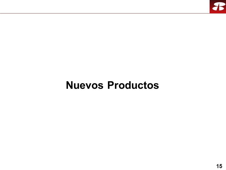 15 Nuevos Productos