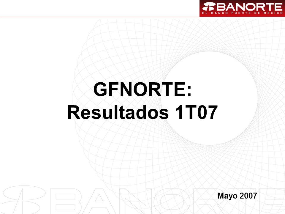 1 GFNORTE: Resultados 1T07 Mayo 2007