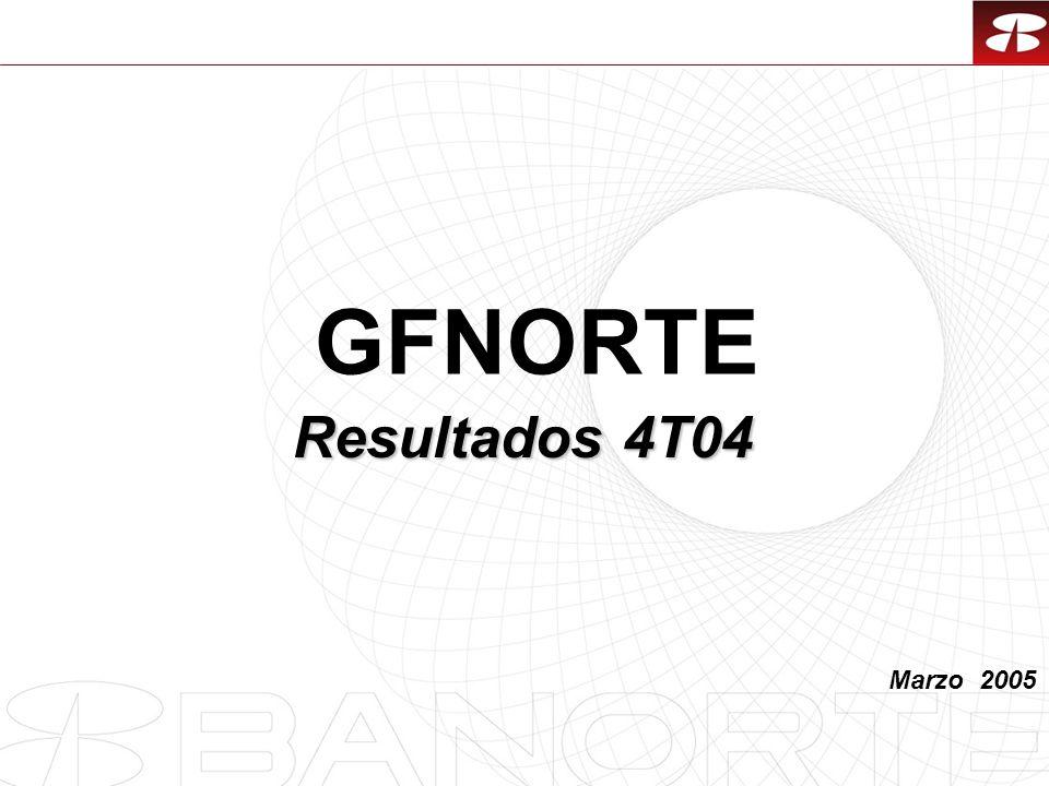 1 Marzo 2005 Resultados 4T04 GFNORTE