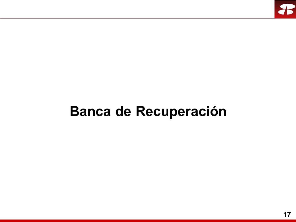 17 Banca de Recuperación