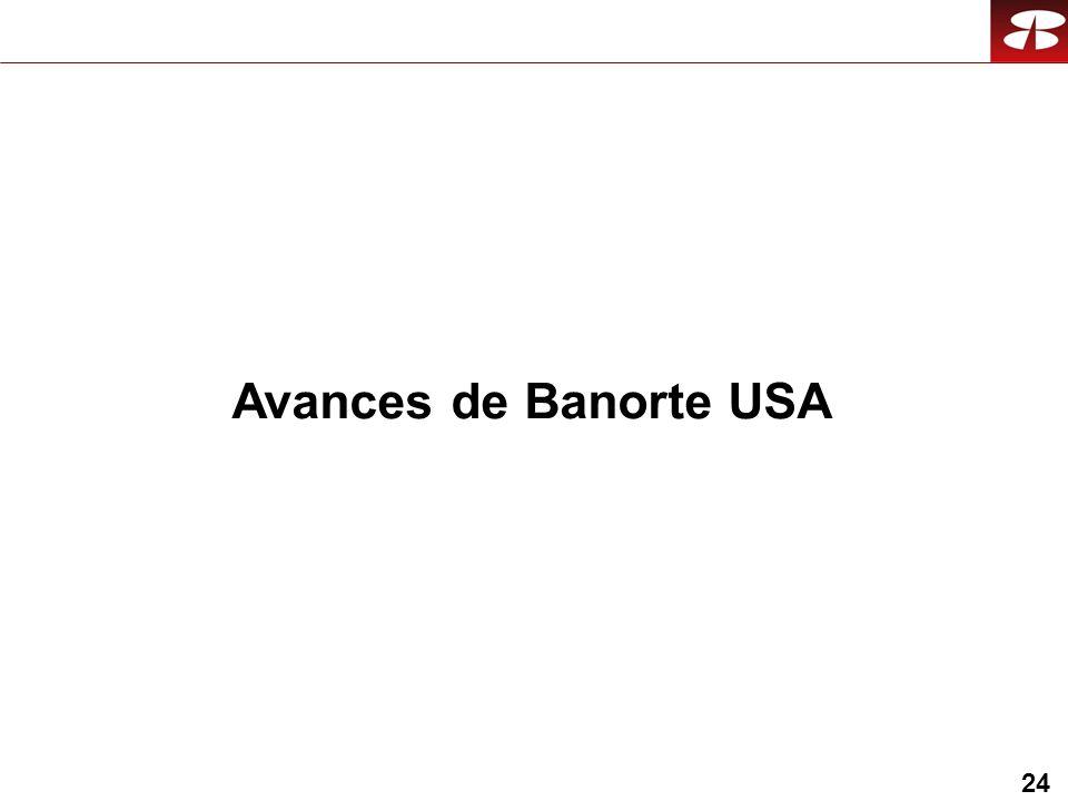 24 Avances de Banorte USA