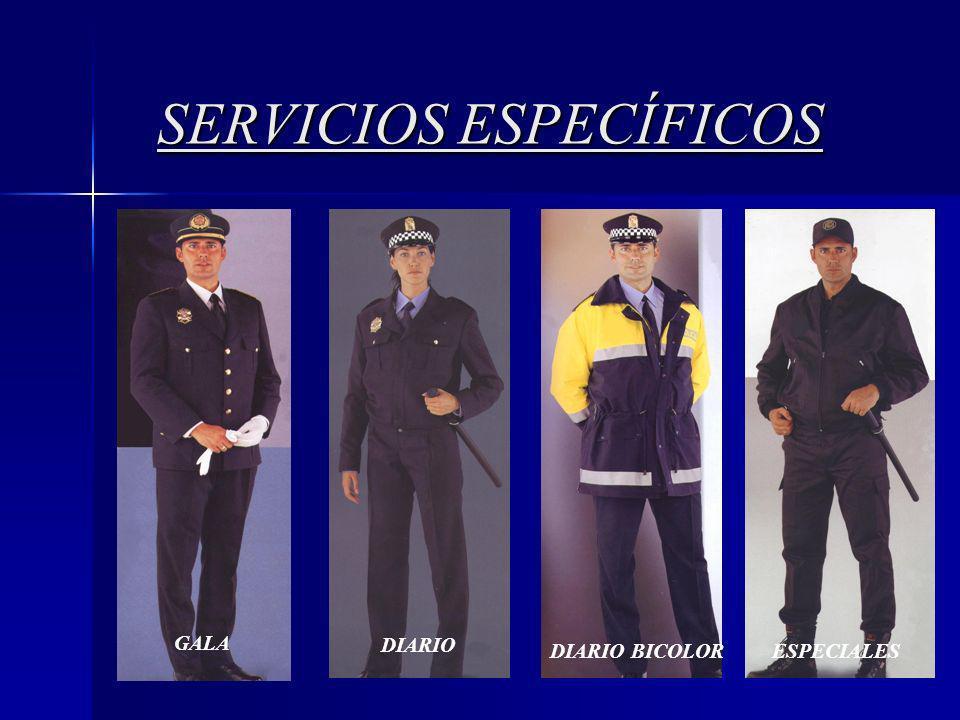 3 SERVICIOS ESPECÍFICOS GALA DIARIO DIARIO BICOLOR ESPECIALES