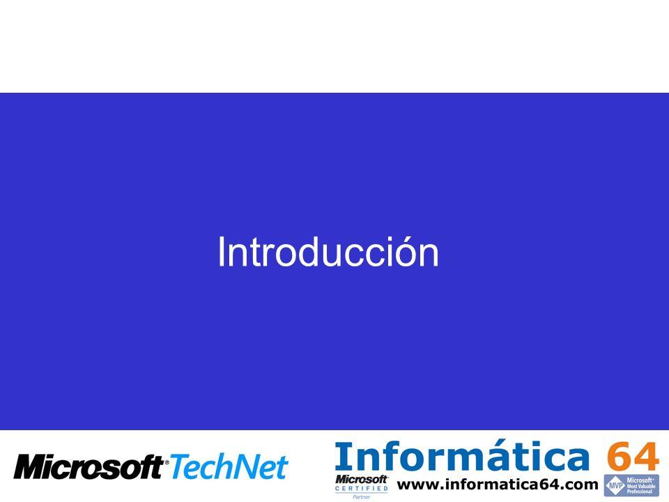 Herramientas ETL (SSIS) Herramienta utilizada para extracción, transformación y carga de información SSIS sustituye a los Servicios de Transformación de datos en SQL Server 2000 Nuevo modelo de componentes de transformación (Replication Management Objects, RMO)