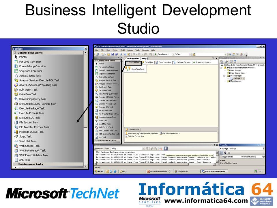 Business Intelligent Development Studio