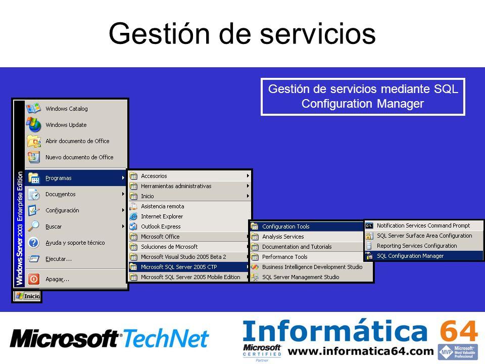Business Intelligent Development Studio Entorno de gestión para los servicios de integración.