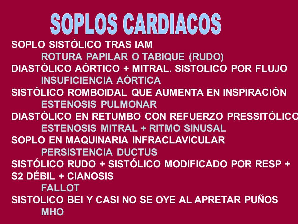 POLIPOS. ASOCIACIONES CÁNCER COLON GEN DE LA POLIPOSIS COLICA FAMILIAR APC CUANDO COLONOSCOPIA ANUAL/BI HASTA LOS 40. LUEGO CADA 5 GEN CANCER HEREDITA