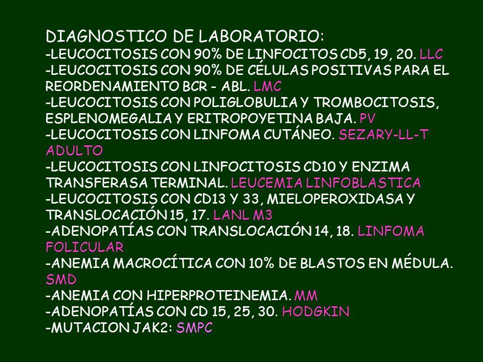 TRATAMIENTOS MIELOMA MÚLTIPLE BORTEZOMIB + LENALIDOMIDA + PREDNISONA + DIFOSFONATOS LEUCEMIA MIELOIDE CRÓNICA DASATINIB ó IMATINIB. TMO LEUCEMIA LINFO