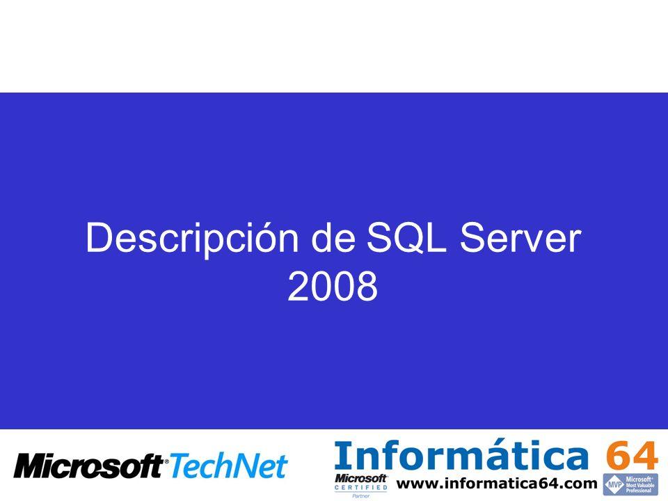 Introducción y componentes Microsoft Data Platform Vision Introducción y componentes:
