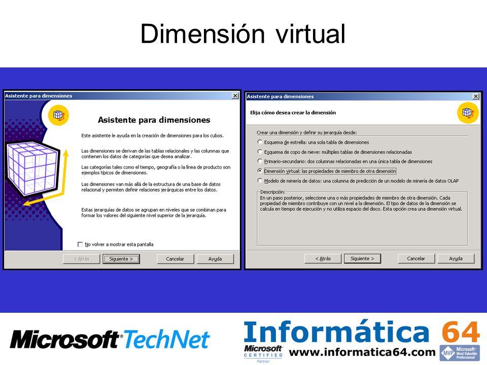 Dimensión virtual