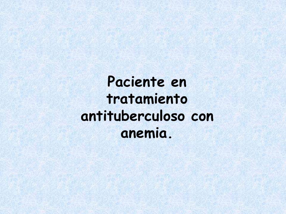 Paciente con anemia, esplenomegalia, vértigo, acúfenos y disnea.