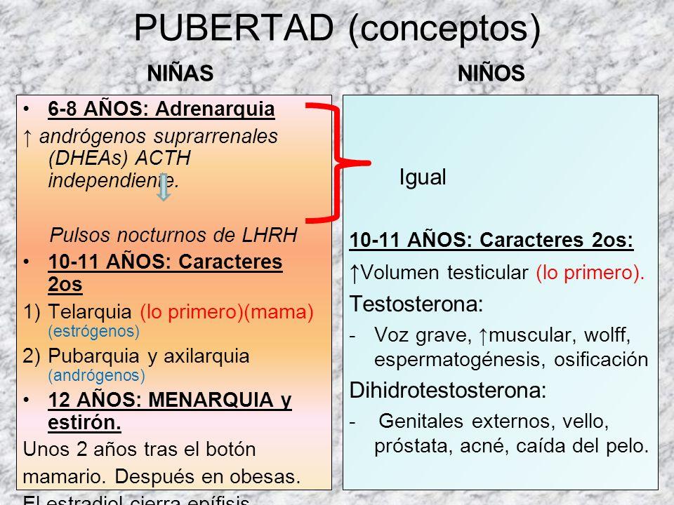 FISIOLOGÍA OVARIO LH FSH ESTRÓGENOS PROGESTERONA LHRH FSH LH ovarioESTRADIOL (+) (-) Inhibina Activina Fase folicular Fase luteínica