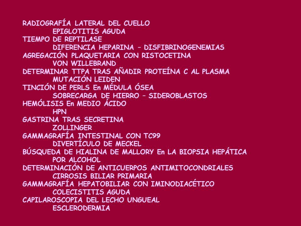 EXAMEN DE LÍQUIDO SINOVIAL CON LUZ POLARIZADA ARTROPATÍAS MICROCRISTALINAS POTENCIALES EVOCADOS VISUALES Y SOMATOSENSISTIVOS ESCLEROSIS MÚLTIPLE ADMIN