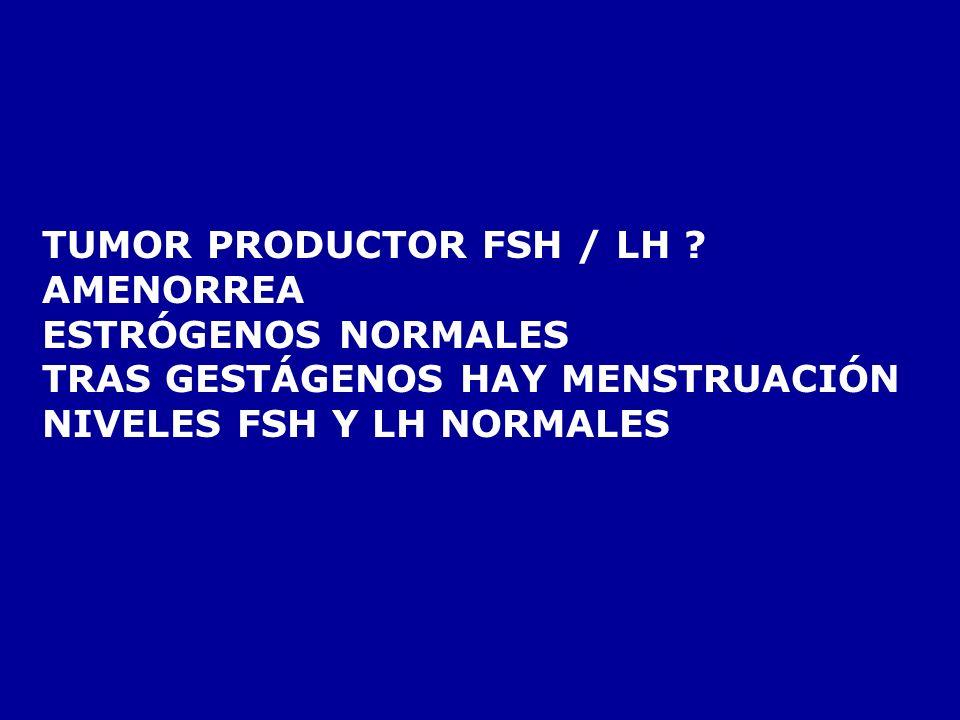 LABORATORIO INSULINA/GLUCOSA TRAS AYUNO = 0,1 GASTRINA TRAS SECRETINA : BAJA GLUCAGÓN Y VIP NORMALES