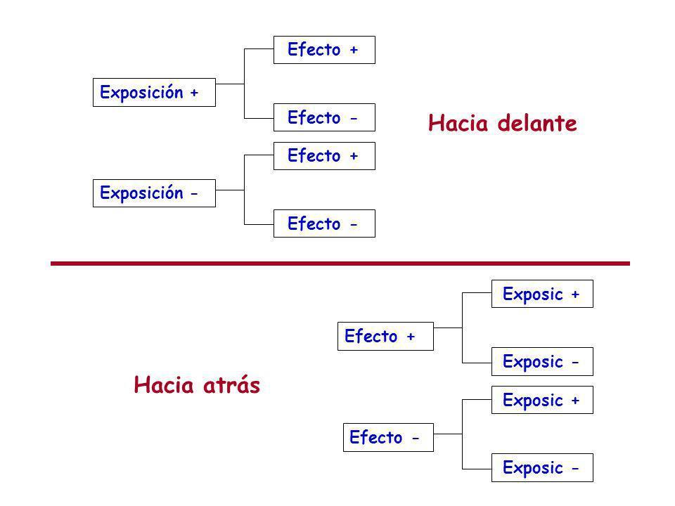Exposición + Exposición - Efecto + Efecto - Efecto + Efecto - Hacia delante Efecto + Efecto - Exposic + Exposic - Exposic + Exposic - Hacia atrás