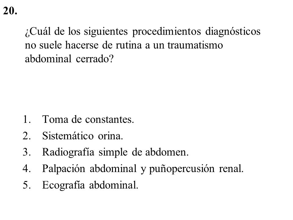 TRAUMATISMO ABDOMINAL Cerrado: probable lesión bazo – hígado.
