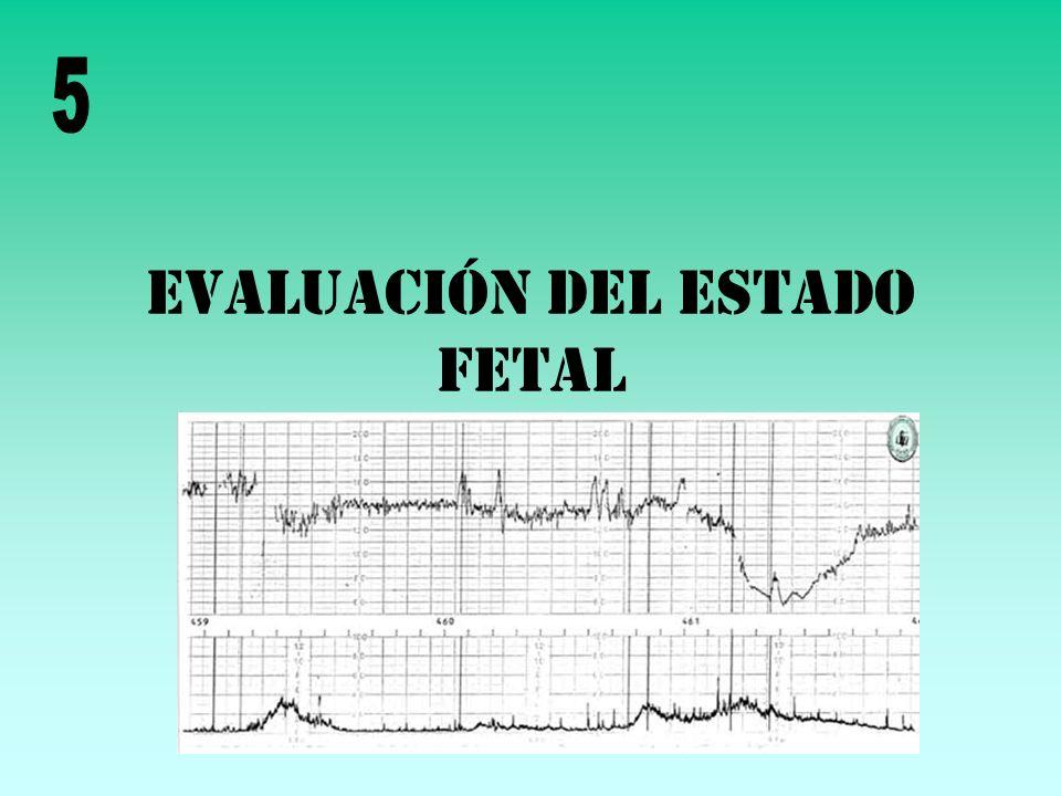 Evaluación del estado fetal