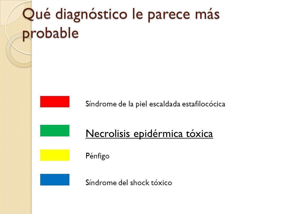 Cuál de los siguientes factores cree que ha podido desencadenar el proceso: Alopurinol Infección por S aureus Neoplasia interna Proceso ampolloso autoinmune
