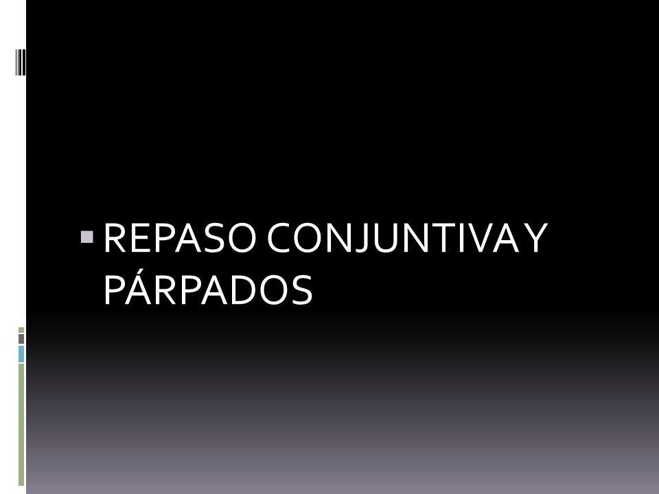 REPASO CONJUNTIVA Y PÁRPADOS