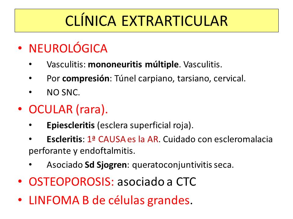SD DE FELTY ESPLENOMEGALIA Tendencia a infecciones G+ CITOPENIAS MO con hipercelularidad y PMN Hiperpigmentación de mmii y úlceras.