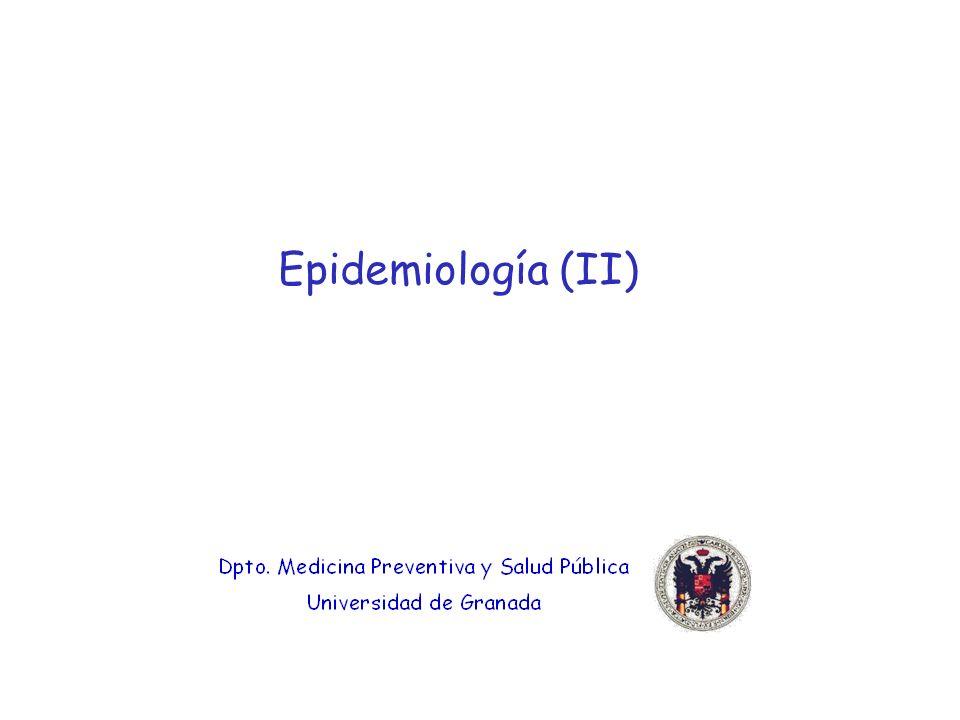 Epidemiología (II)