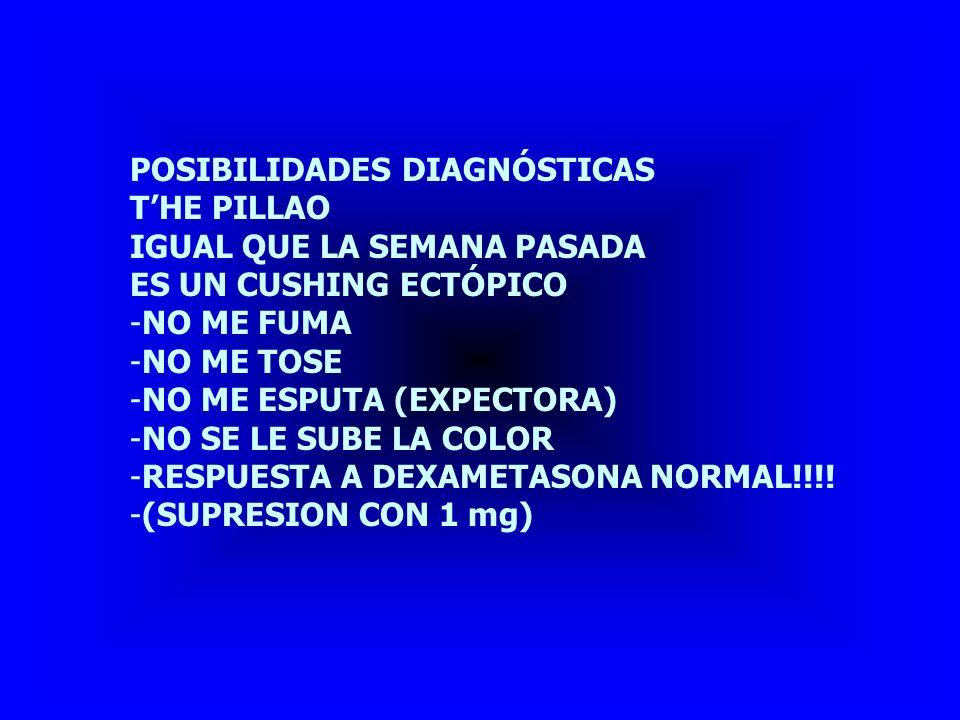 POSIBILIDADES DIAGNÓSTICAS SÍNDROME DE BARTTER NO PORQUE NO HAY HIPERTENSIÓN OTRA ENFERMEDAD ASOCIADA???.