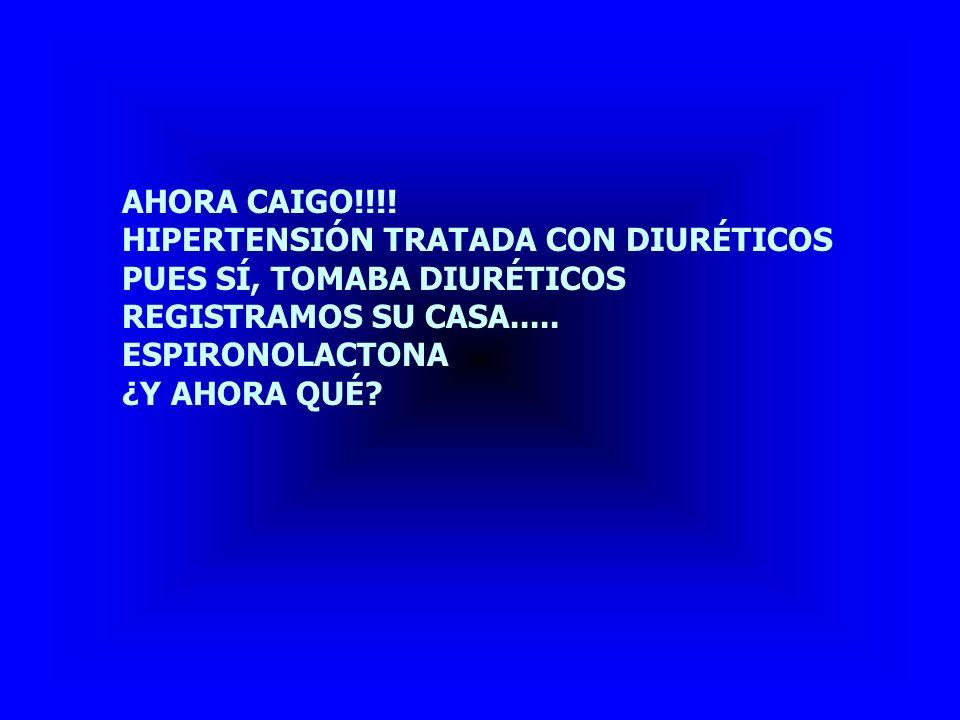 POSIBILIDADES DIAGNÓSTICAS ACEPTARÍAS HIPERPLASIA SUPRARRENAL.