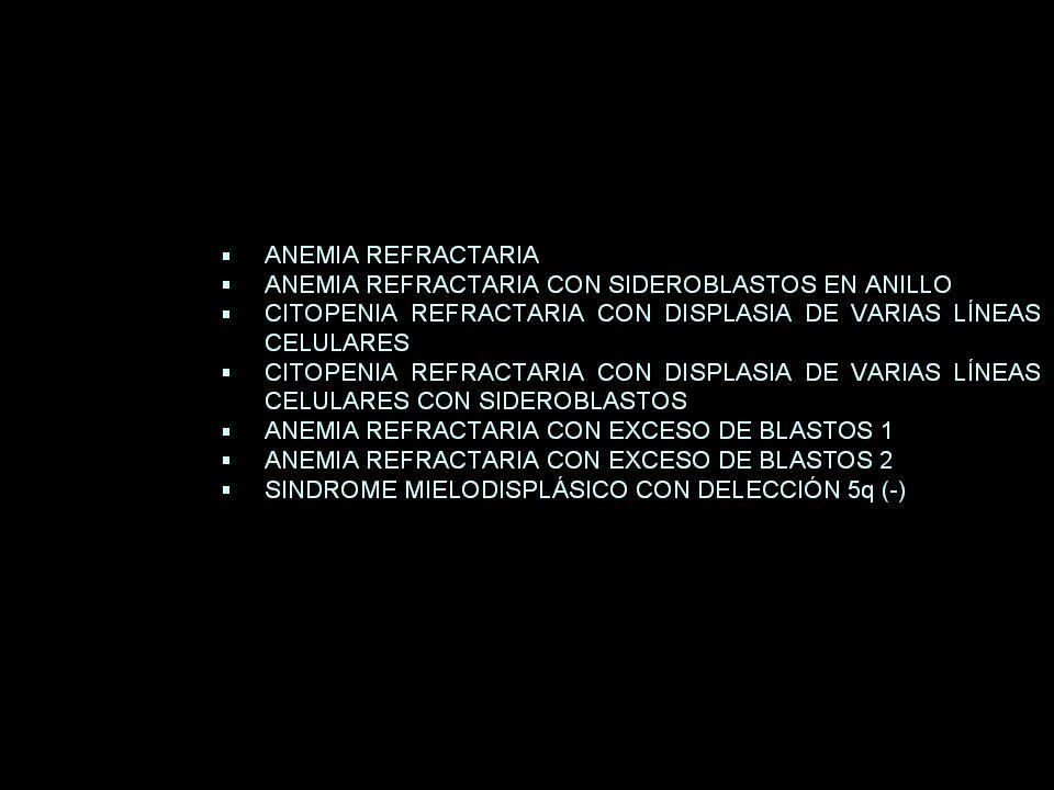 TRATAMIENTO MEGALOBLÁSTICA DÉFICIT DE B12: 6 INYECCIONES DE 1000 mcg DE OH-COBALAMINA (CADA 3-7 DÍAS).