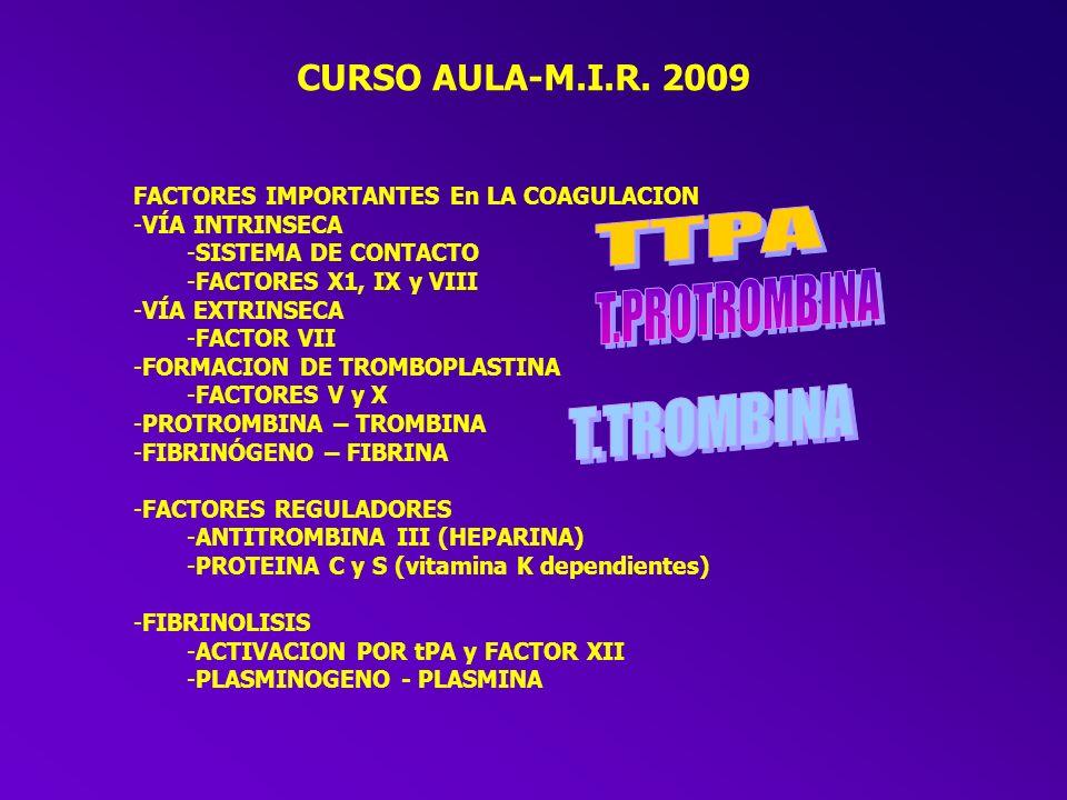 CURSO AULA-M.I.R. 2009