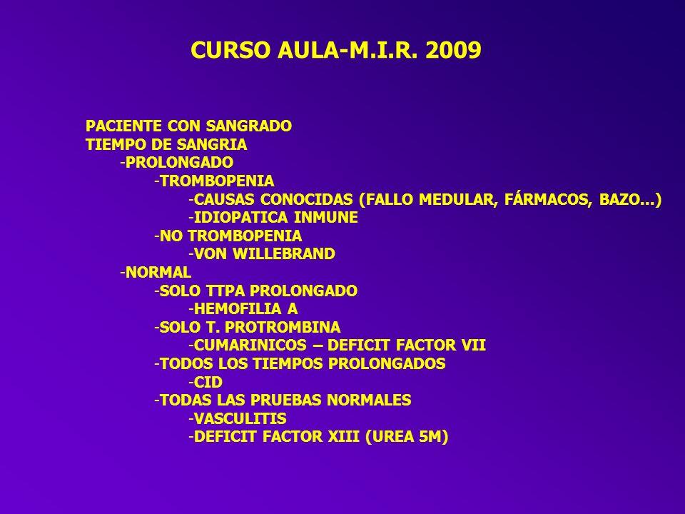 FACTORES IMPORTANTES En LA COAGULACION -VÍA INTRINSECA -SISTEMA DE CONTACTO -FACTORES X1, IX y VIII -VÍA EXTRINSECA -FACTOR VII -FORMACION DE TROMBOPLASTINA -FACTORES V y X -PROTROMBINA – TROMBINA -FIBRINÓGENO – FIBRINA -FACTORES REGULADORES -ANTITROMBINA III (HEPARINA) -PROTEINA C y S (vitamina K dependientes) -FIBRINOLISIS -ACTIVACION POR tPA y FACTOR XII -PLASMINOGENO - PLASMINA