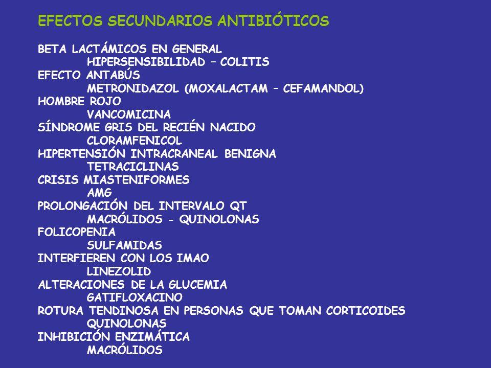 TRATAMIENTOS EMPÍRICOS MENINGITIS -CEFOTAXIMA + VANCOMICINA -MAYORES DE 55 O IDEPR -AÑADIR AMPICILINA -NEONATOS -CEFTRIAXONA + AMPICILINA -ABSCESOS -C