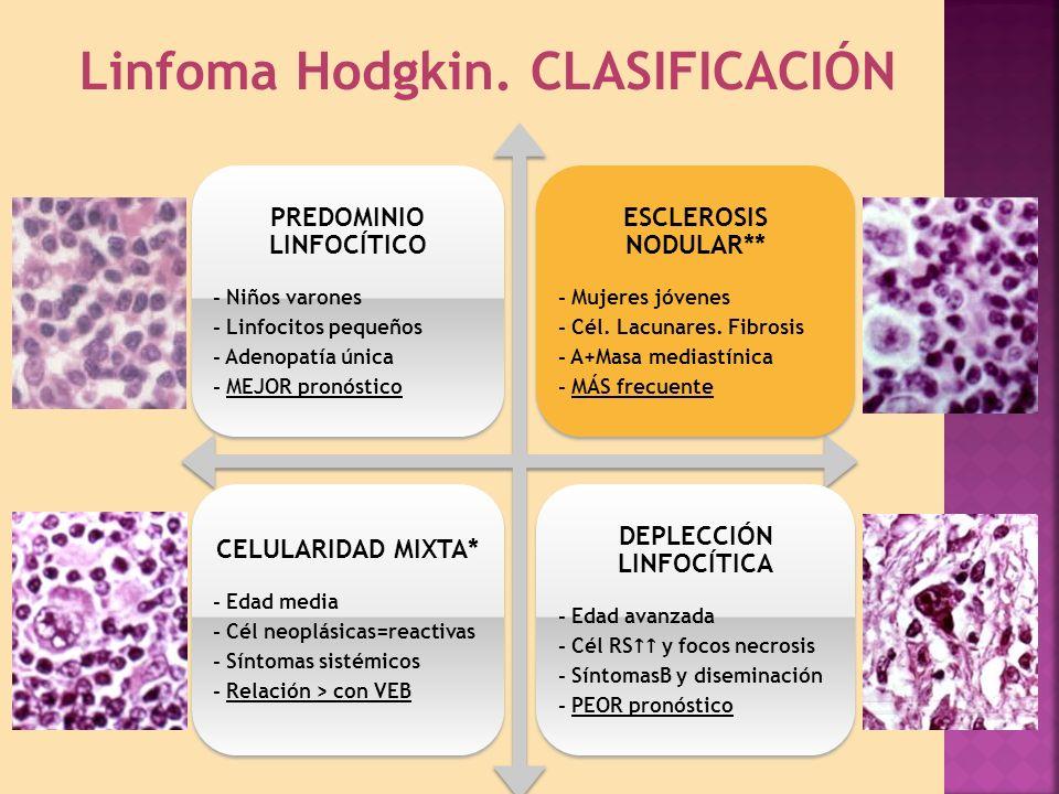 Linfoma Hodgkin.