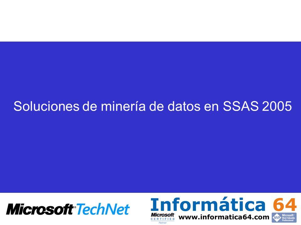 Soluciones de minería de datos en SSAS 2005