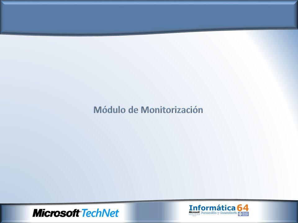 Servidor de Monitorización Consola de administración de planificación Diseñador de paneles y sitio de previsualización