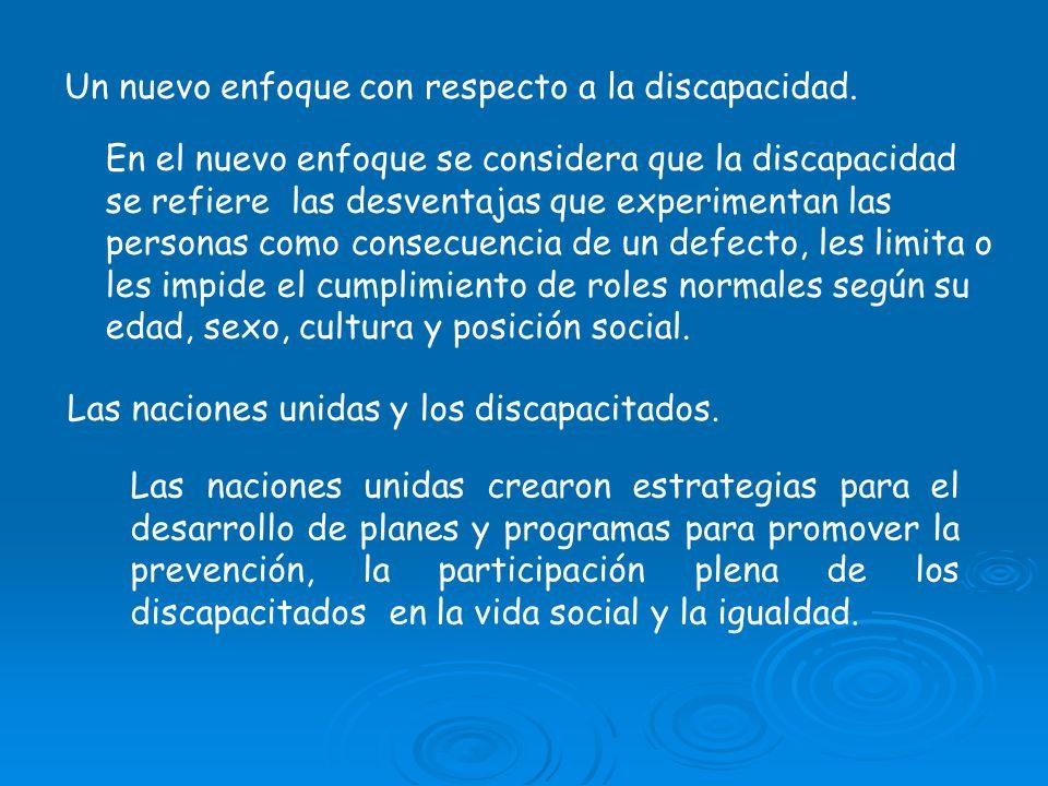 *LA UNESCO Y LA EDUCACION DE NIÑOS DISCAPACITADOS.