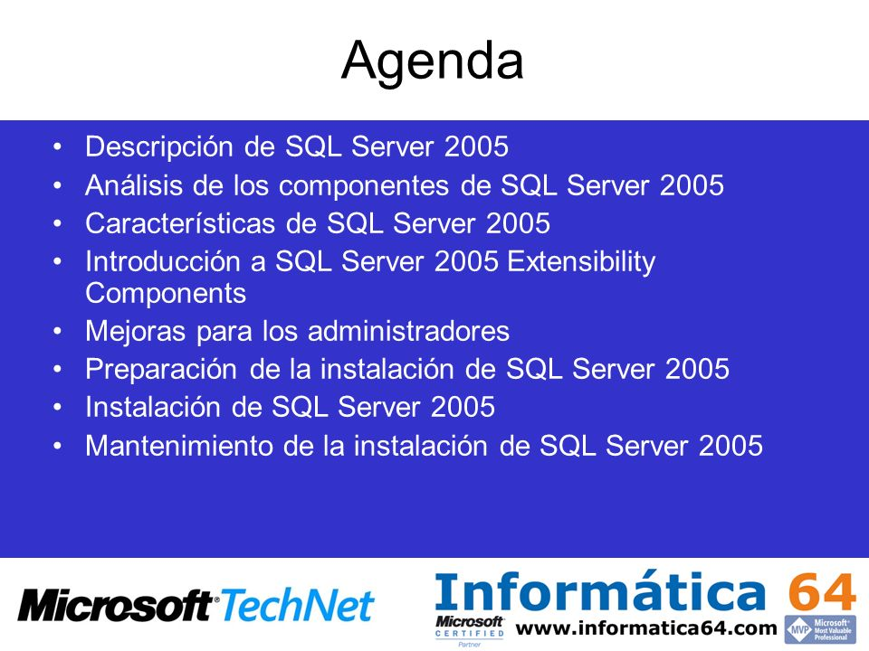 Introducción a SQL Server Integration Services (SSIS) Herramienta ETL totalmente rediseñada (antiguos DTS) Integracion en Business Intelligence Development Studio