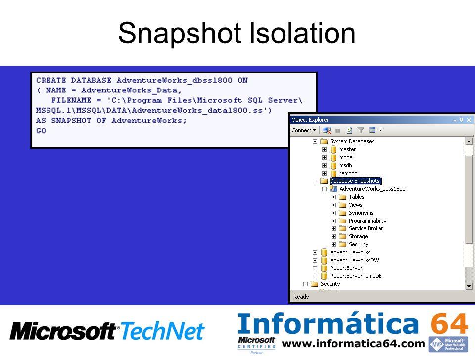 Snapshot Isolation