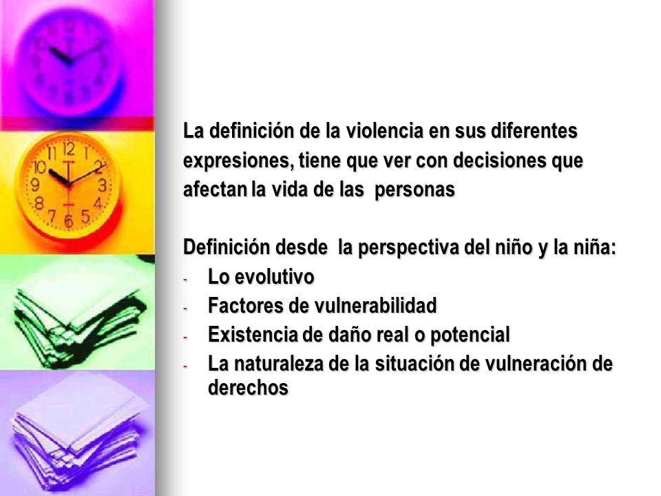 Factores de riesgo DEL ABUSADOR O ABUSADORA Maltrato y/o abuso sexual en su infancia.